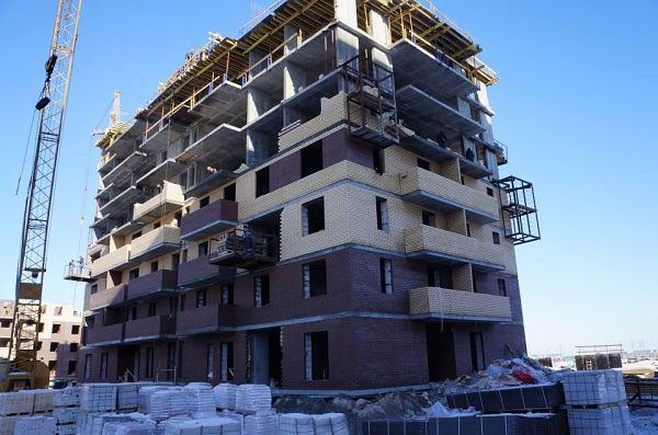 Процесс строительства новостройки АО «ПЗСП»