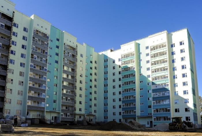 Сданный в эксплуатацию жилой комплекс