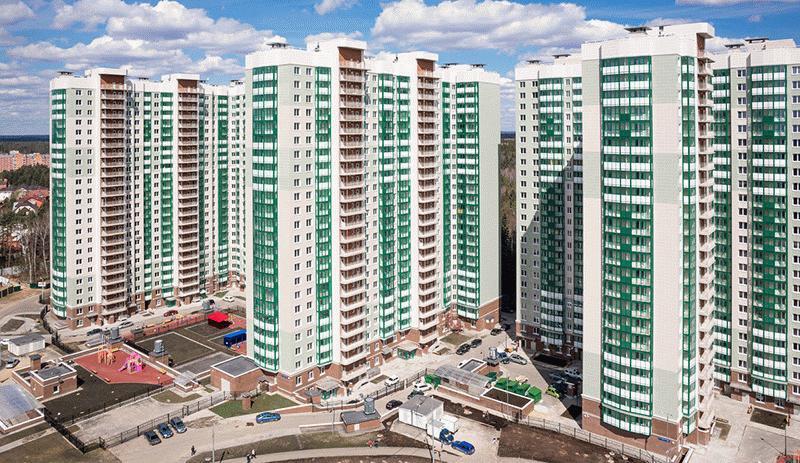 Жилой комплекс на западе Москвы