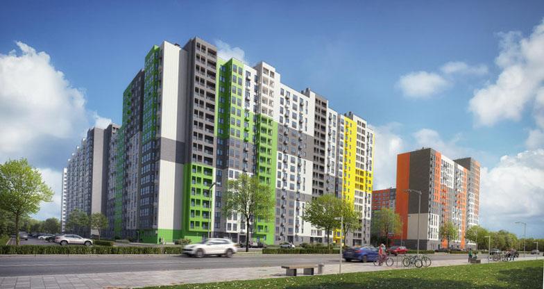 Новый микрорайон «Бутово Парк 2» в Подмосковье