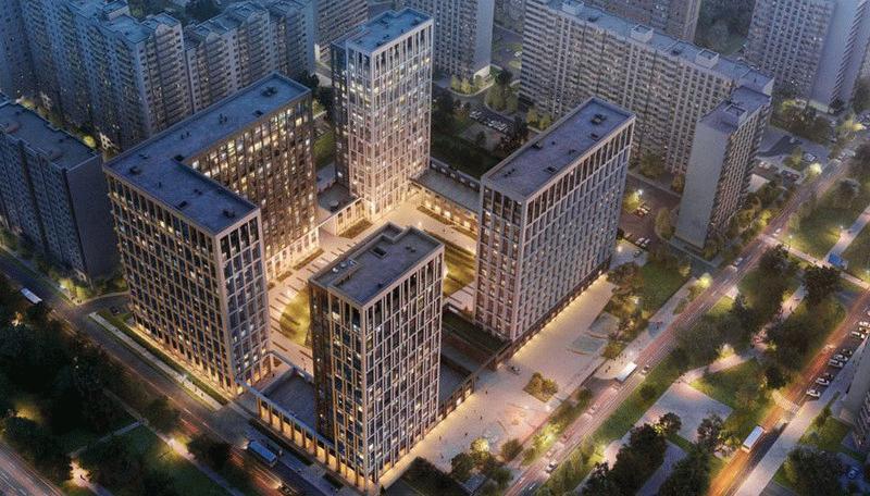 Жилой квартал бизнес-класса в Академическом районе Москвы