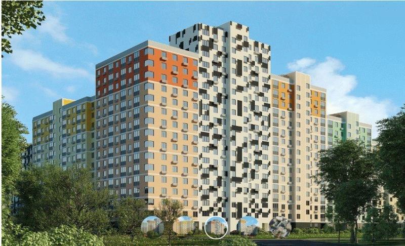 Новые квартиры в жилом комплексе «Лучи»