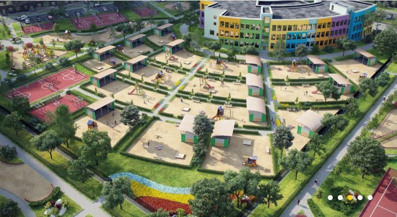 Развитая инфраструктура ЖК «Пригород Лесное»