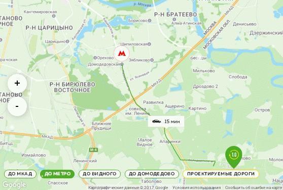 Транспортная развязка ЖК «Пригород Лесное»