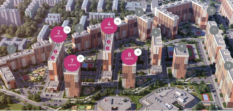 Уютное жилье от застройщика «Главмосстрой-недвижимость в Московской области