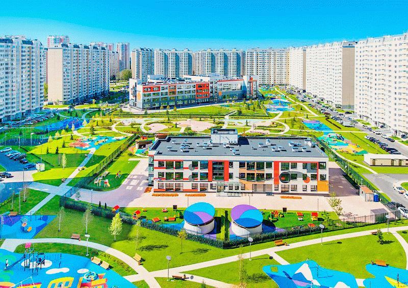 Строящийся микрорайон «Первый Московский» в Московской области