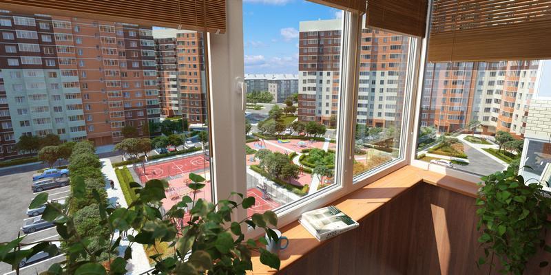 Новый жилой микрорайон в Балашихе Московской области