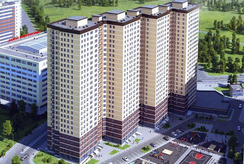 Высотки ЖК «Молодежный» в Московской области