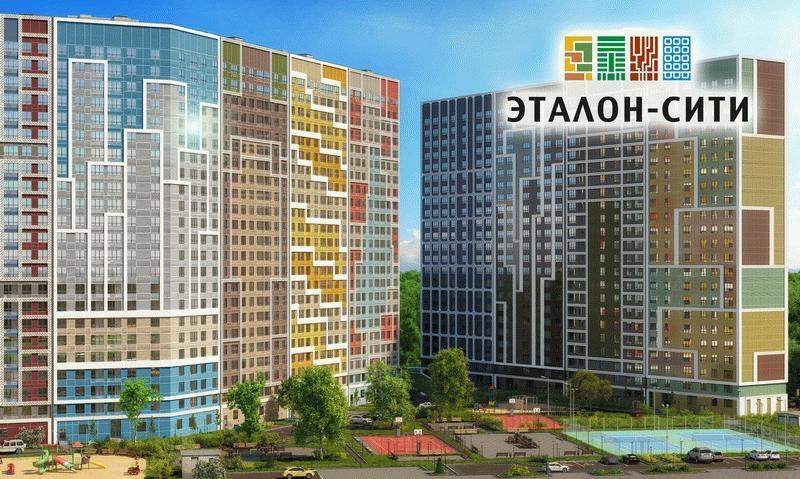 Высотки Эталон-Сити на юге Москвы
