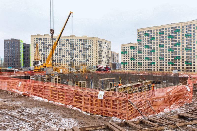Ход строительства Новое Медведково на сентябрь 2017