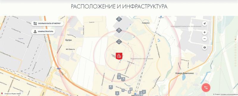 """Расположение и инфраструктура ЖК """"ГренЛандия 2"""""""