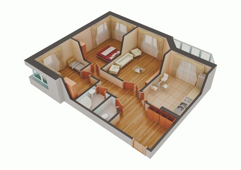 Конструктор квартир в новых домах