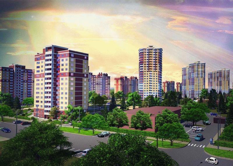 Фото новостроек города Тула