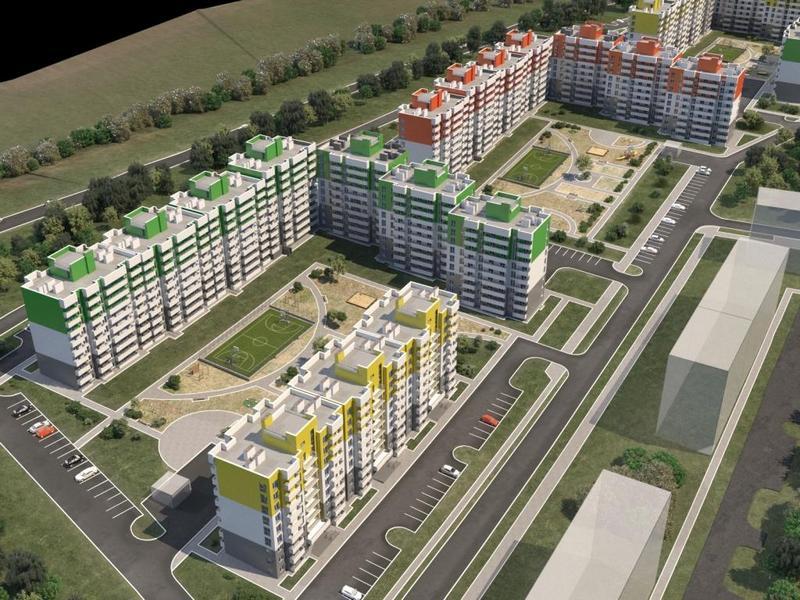План застройки микрорайона Юго Западный в Иркутске