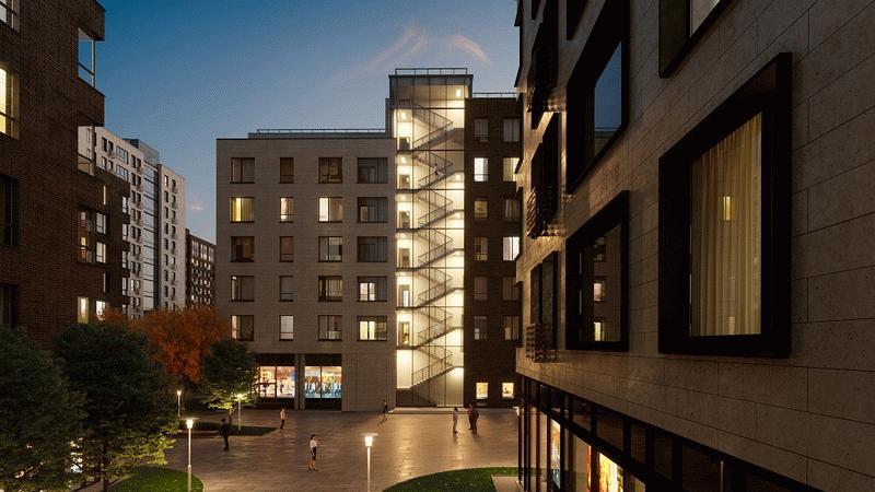 Фото ЖК «Резиденции архитекторов»
