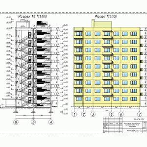 Проекты и типы панельных домов