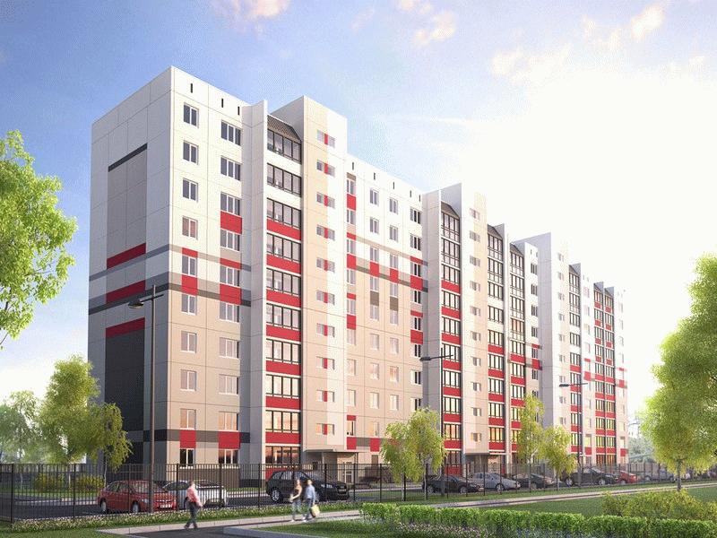 Визуализация ЖК «Ягодный» в Челябинске