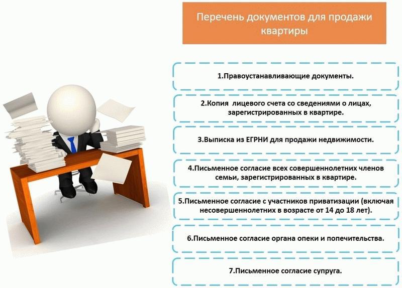 Перечень документов для самостоятельной продажи квартиры