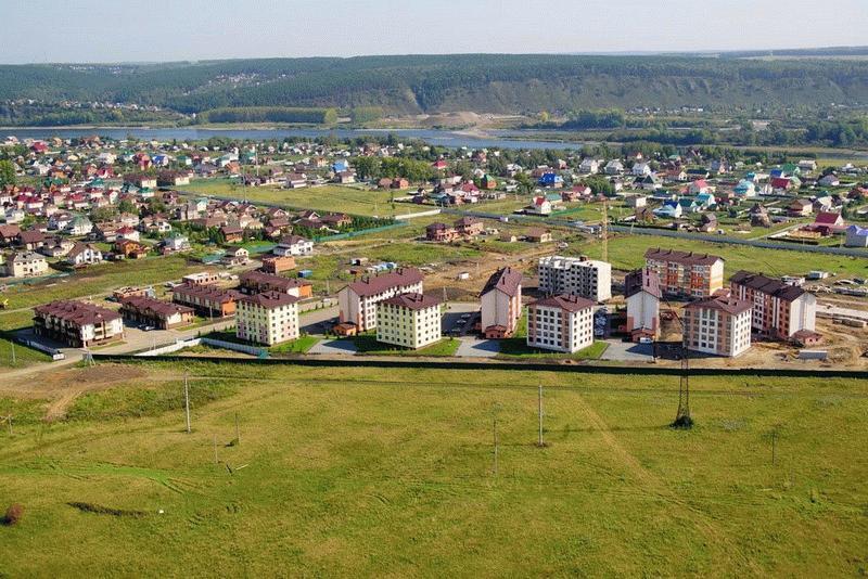 Аэроснимок «Европейские Провинции» в Кемерово