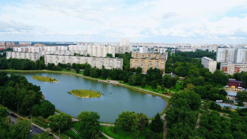 Ангарские пруды возле ЖК «Город»
