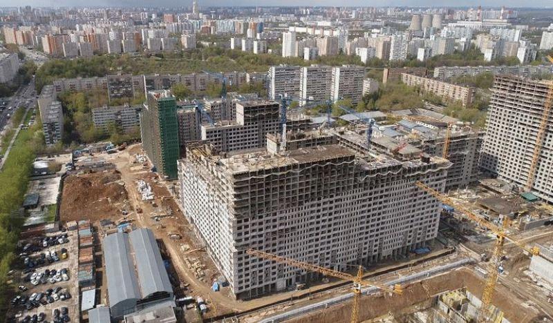 Ход строительства ЖК «Город»