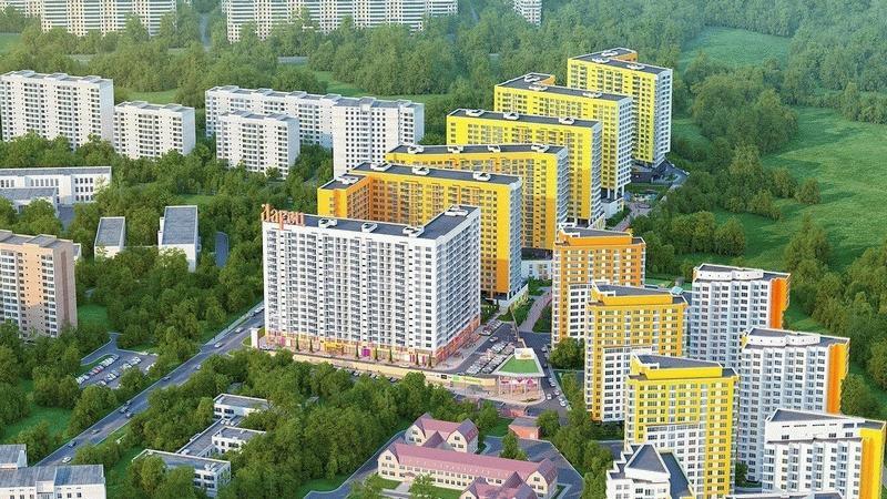 Квартал «Краски Жизни» в Видном