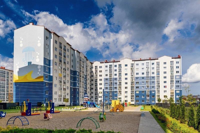 Фото ЖК «Легенды моря» в Калининграде
