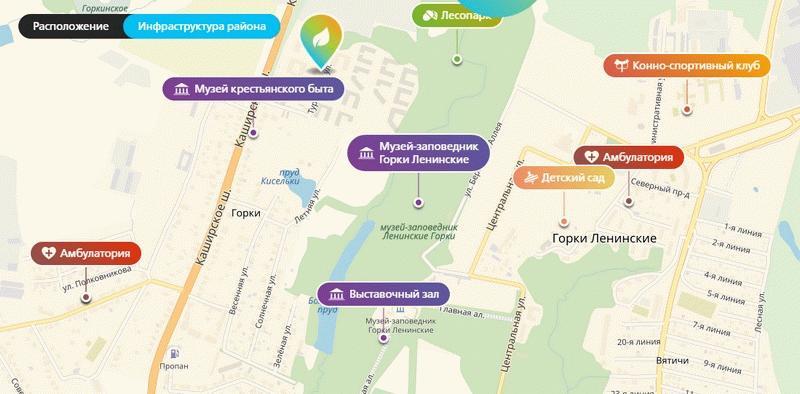Инфраструктура ЖК «Город-курорт Май»