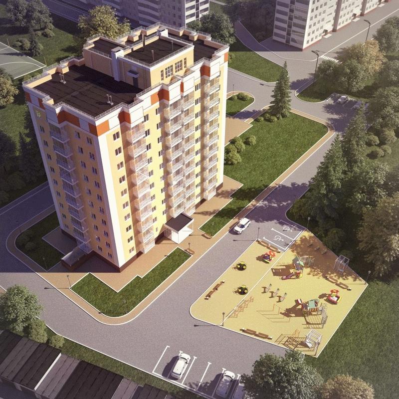 Фото ЖК «Разградский» в городе Орел