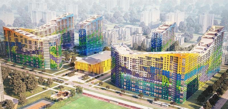 Визуализация ЖК «Светлый мир «Жизнь» в Северной столице