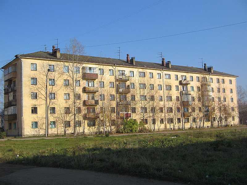 Пример панельного дома «Хрущевски»