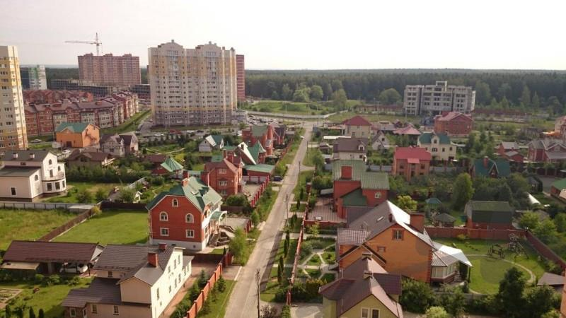 Двухэтажные дома в Апрелевке