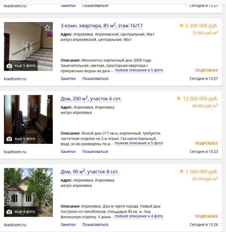 Предложение на двухуровневые квартиры