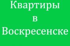 За сколько можно купить квартиру в г. Воскресенск? Вторичное жилье или новостройка