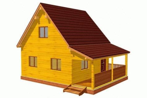 Дом из профилированого бруса