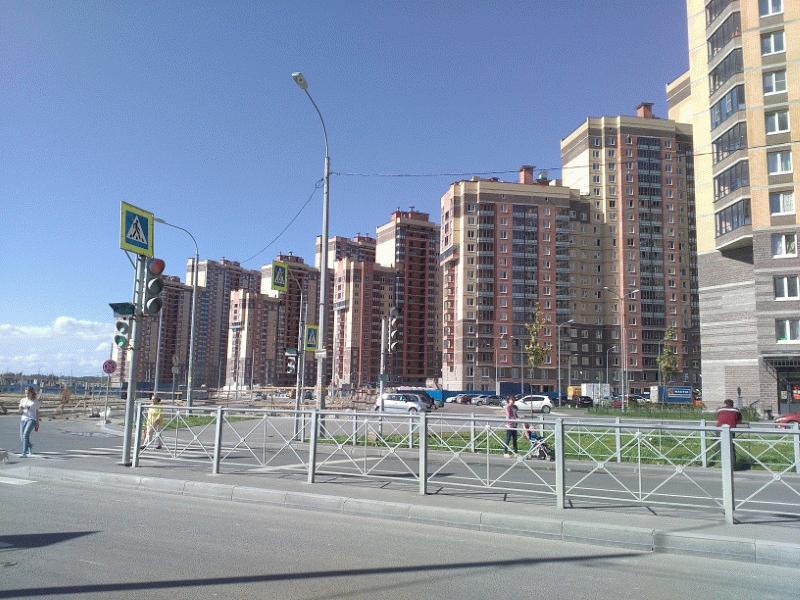 Новый жилой комплекс у метро Парнас