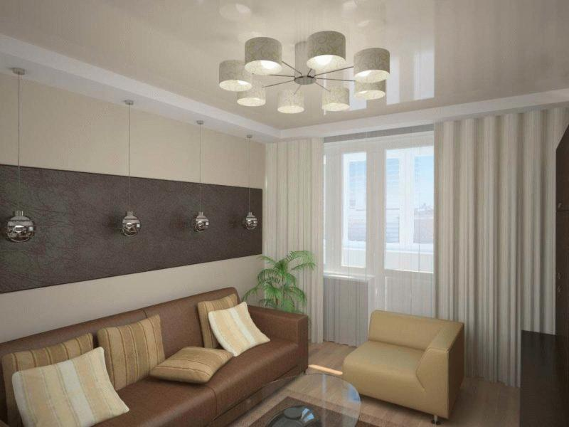 Восполнить дефицит освещения в комнате помогают стильные потолочные люстры и настенные светильники