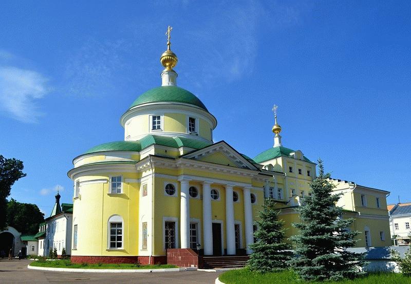 Екатерининская пустынь в г. Видное - мужской монастырь, который во время Сталина <span class=
