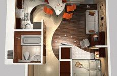 Планировка 2-комнатной квартиры в панельном доме: варианты в разных проектах и сериях