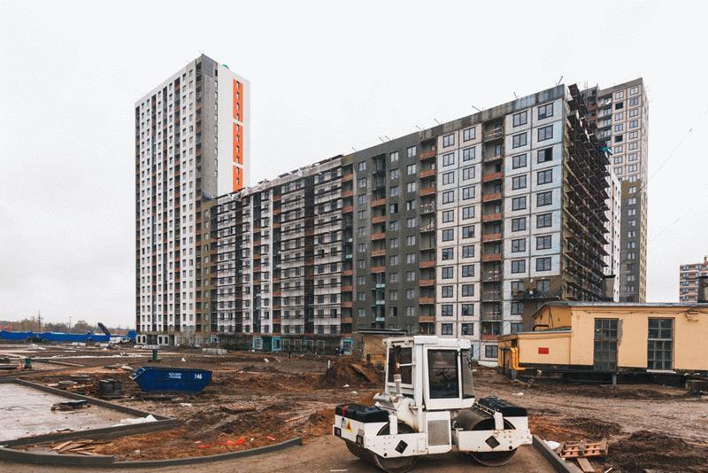 Строительство активно ведется