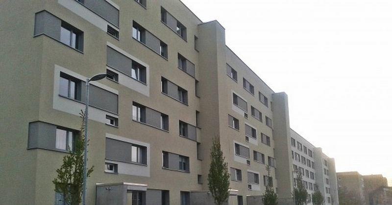 Реконструированные панельные дома в ФРГ
