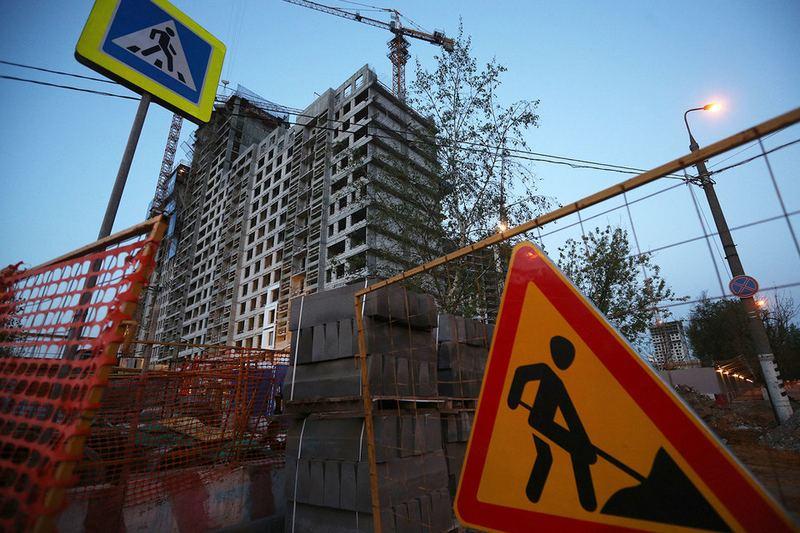 Строительство началось не везде