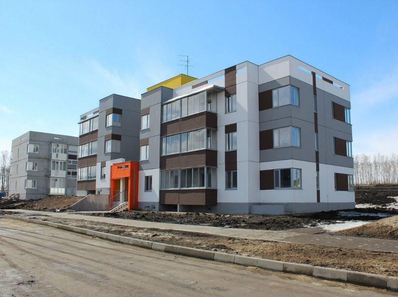 Новые панельные дома привлекают внимание