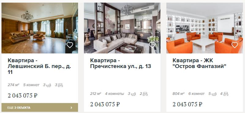Квартиры от 2 миллионов