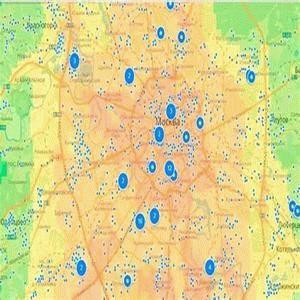 Рейтинг районов Москвы по экологии