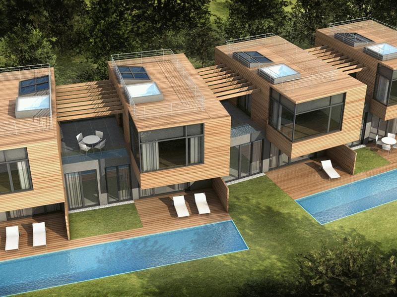 Дом блокированной застройки - конструкция, имеющая четкое определение согласно нормативным актам