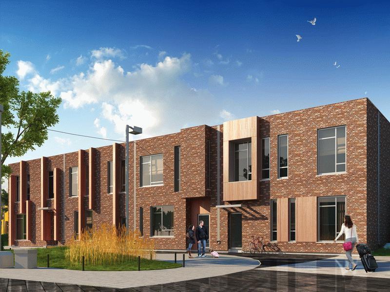 Отдельный вход и количество этажей, не превышающее трех - обязательное требование, предъявляемое к домам блокированной застройки