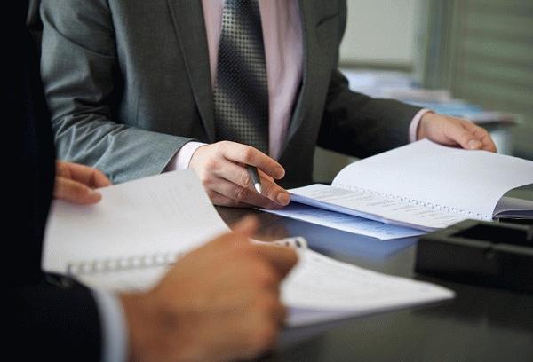 Процесс изучение документов специальной комиссией