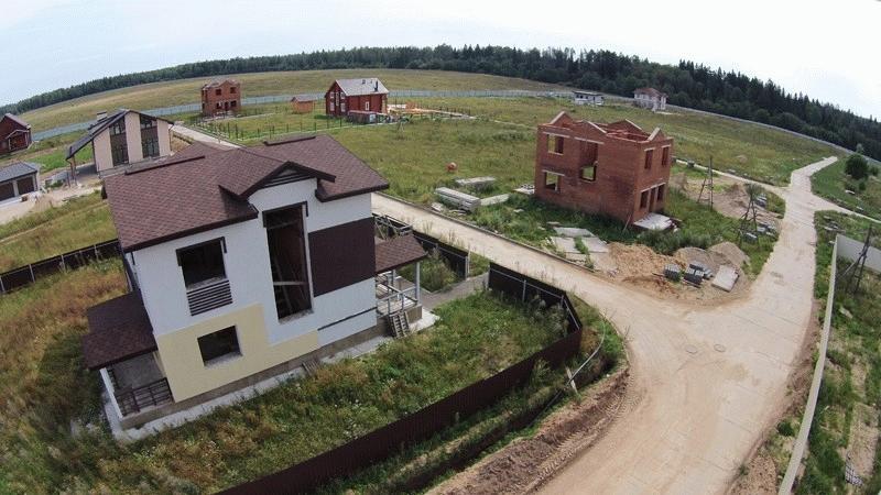 Строительство нового коттеджного поселка