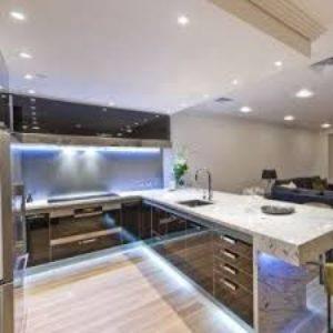 Как отделить кухню в квартире-студии